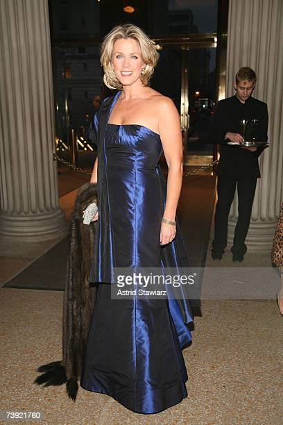Deborah Norville attends the reopening of Bvlgari's fifth avenue flagship store celebrations held at the The Metropolitan Museum of Art on April 18...