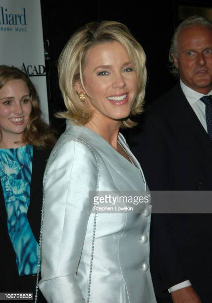 Deborah Norville during Benefit Dinner For The Juilliard School and The Royal Academy of Music Arrivals at The Rainbow Room in New York City NY...