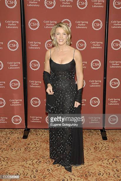 Deborah Norville during Cold Spring Harbor Laboratory Dinner Honoring Muhammad Ali Bob and Suzanne Wright and Phillip Sharp at Mandarin Hotel in New...