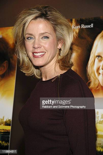 Deborah Norville during 'Dreamer Inspired by a True Story' New York Premiere City Arrivals at Chelsea West Theatre in New York City New York United...