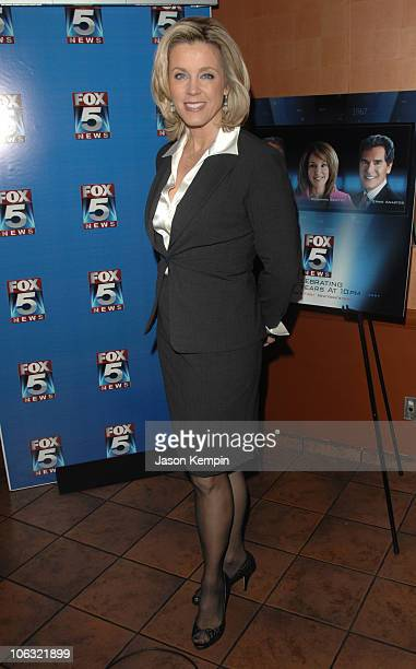 Deborah Norville during Fox 5 Celebrates The 4th Anniversary Of The 10 PM News March 15 2007 at Fresco On The Go in New York City New York United...