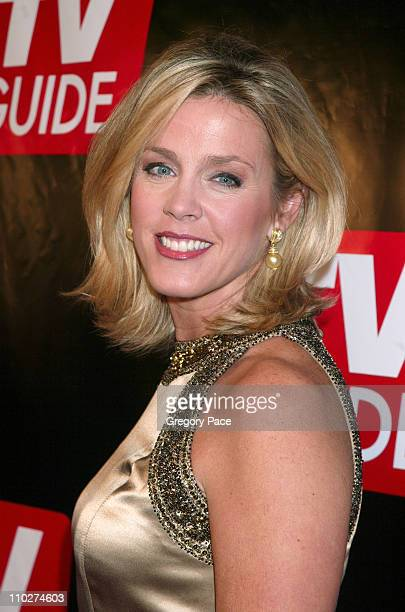 Deborah Norville during Launch of the New Big TV Guide Magazine Red Carpet Arrivals at Home and Guest House in New York City New York United States