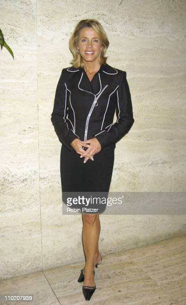 Deborah Norville during Newsweek Party for The Republican Convention Given by Lally Weymouth at The Four Seasons Restaurant in New York New York...