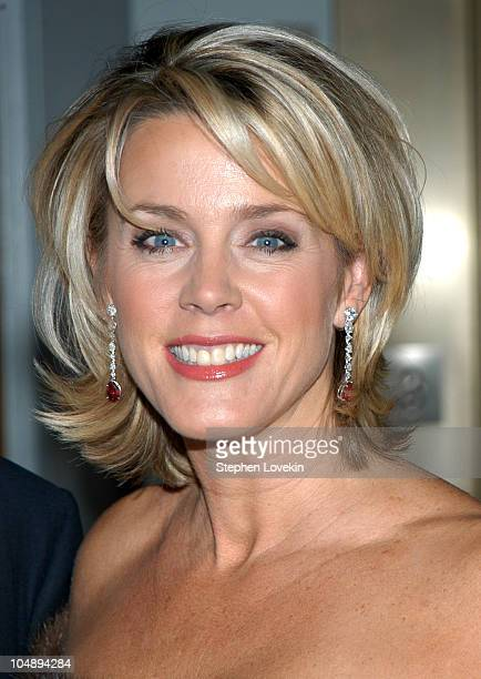 Deborah Norville during Rita Hayworth Gala Benefiting The Alzheimers Association at The Waldorf Astoria in New York City New York United States