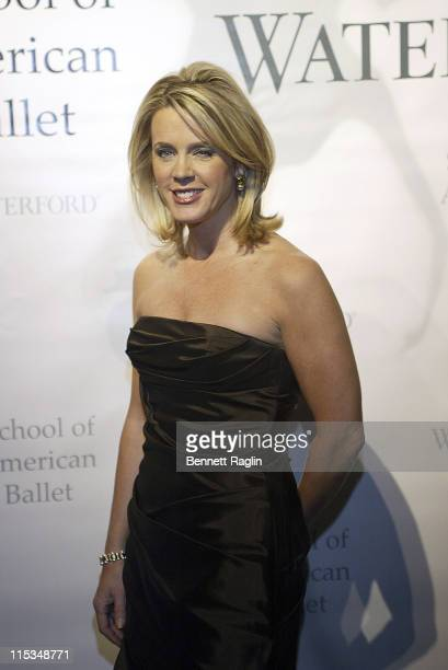 Deborah Norville during School of American Ballet's Winter Ballet Ball Arrivals at Jazz at Lincoln Center in New York City New York United States