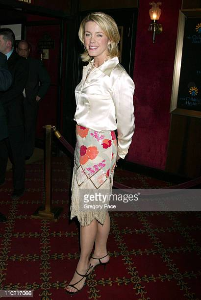 Deborah Norville during 'Star Wars Episode III Revenge Of The Sith' New York City Benefit Premiere Inside Arrivals at Ziegfeld Theater in New York...