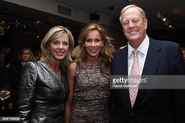 Deborah Norville Julie Koch and David Koch attend A Cocktail Party to Celebrate the Publication of THANK YOU POWER by DEBORAH NORVILLE at Michaels on...