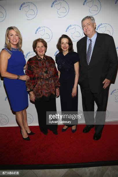 Deborah Norville Nina Zagat Dr Mary L Pulido and Tim Zagat attend The New York Society for the Prevention of Cruelty to Children 2017 Food Wine Gala...