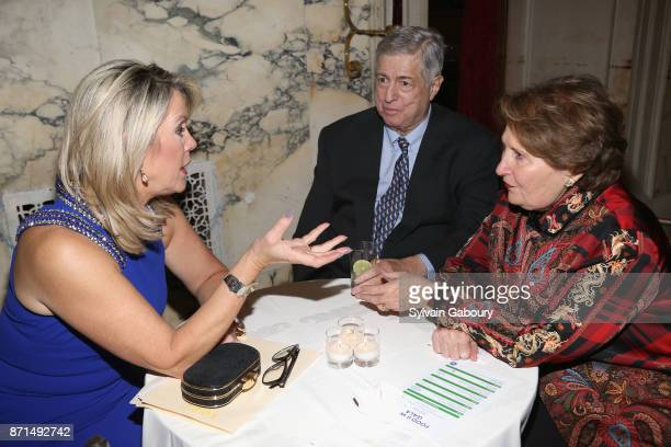 Deborah Norville Tim Zagat and Nina Zagat attend The New York Society for the Prevention of Cruelty to Children 2017 Food Wine Gala on November 7...