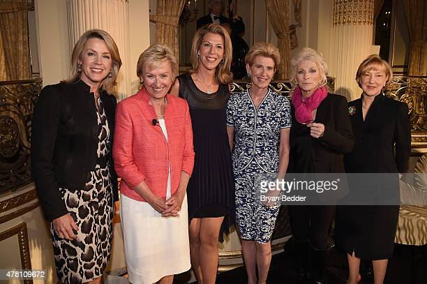 Deborah Norville Tina Brown Ami Kaplan Emily Rafferty Judy Collins and Linda Willett attend the 5th Annual Elly Awards hosted by the Women's Forum of...