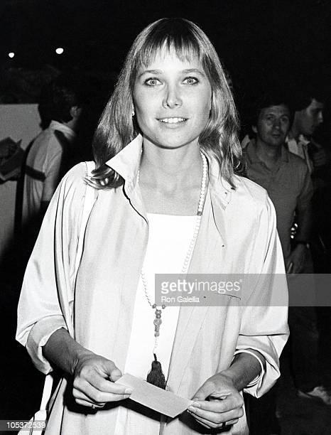 Deborah Raffin during Deborah Raffin Sighting at Spago August 3 1983 at Spago's Restaurant in Los Angeles California United States