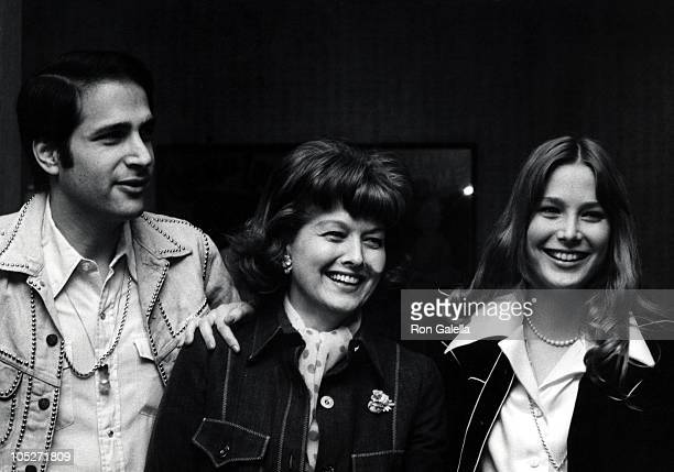 Deborah Raffin Michael Viner and Guest during Jim Stacy Benefit March 24 1974 at Century Plaza Hotel in Century City California United States
