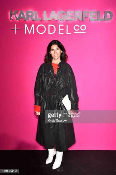 Deborah Reyner Sebag attends Karl Lagerfeld Modelco Make Up Line Launch cocktail party at Hotel D'Evreux on May 15 2018 in Paris France