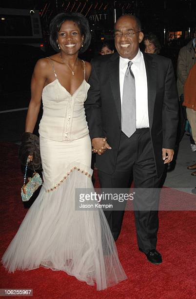 Deborah Roberts and Al Roker during The Third Annual UNICEF Snowflake Ball - November 28, 2006 at Cipriani's - 42nd Street in New York City, New...