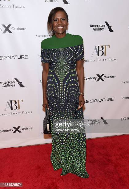 Deborah Roberts attends the American Ballet Theatre 2019 Fall Gala at David H Koch Theater at Lincoln Center on October 16 2019 in New York City