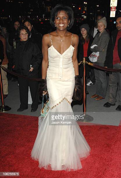 Deborah Roberts during The Third Annual UNICEF Snowflake Ball - November 28, 2006 at Cipriani's - 42nd Street in New York City, New York, United...