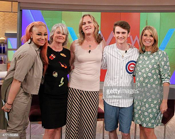 THE VIEW Deborah Roberts guest cohosts Guests include TI and Tiny Ben and Carly and chef Ron Duprat airing Friday June 12 2015 on Walt Disney...