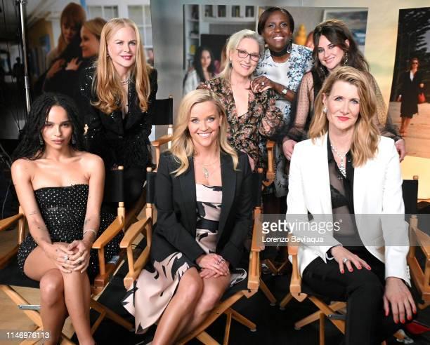 "Deborah Roberts interviews the cast of ""Big Little Lies"" on ""Good Morning America,"" airing Thursday, May 30, 2019 on Walt Disney Television via Getty..."