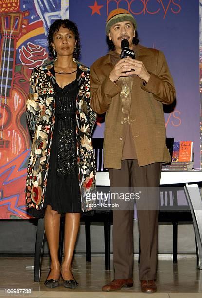 Deborah Santana and Carlos Santana during Carlos and Deborah Santana InStore Appearance For Carlos's New Fragrance Carlos Santana June 5 2006 at...
