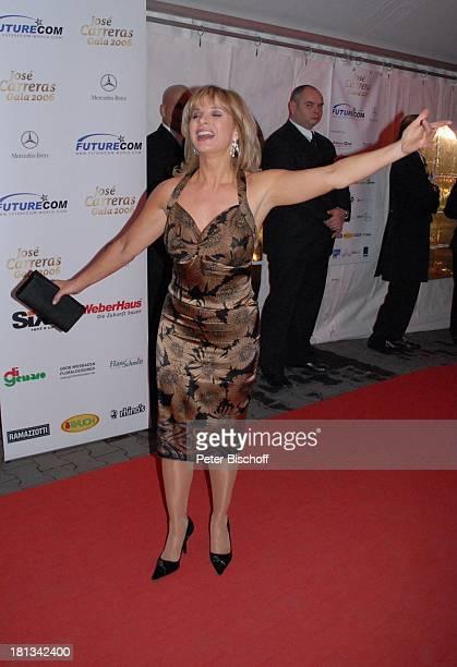 "Deborah Sasson, Aftershow-Party nach ARD-Benefiz-Show ""J o s e C a r r e r a s Gala 2006"", Leipzig, Deutschland, , Prod.-Nr.: 1921/2006, ""Panometer"",..."