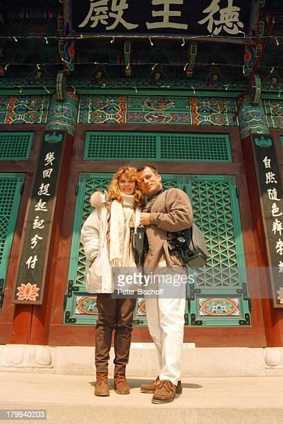 Deborah Sasson Lebensgefährte DieterTings Seoul/Südkorea Urlaub Stadtbummel