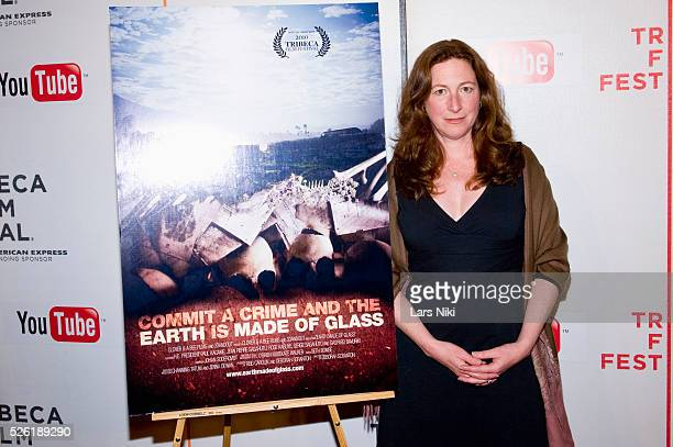 Deborah Scranton at the premiere of Earth Made of Glass during the 2010 Tribeca Film Festival in New York City