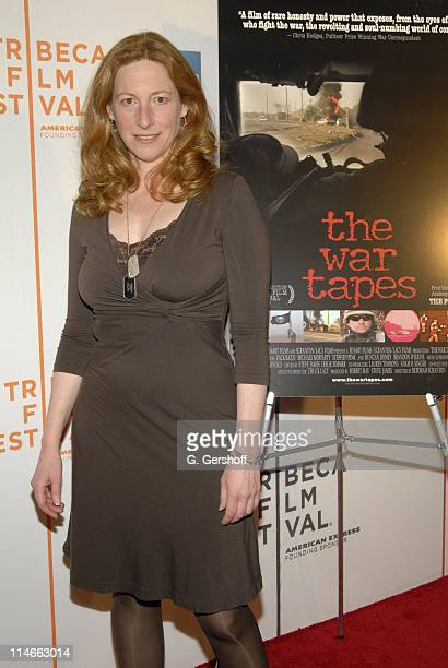 Deborah Scranton director during 5th Annual Tribeca Film Festival The War Tapes World Premiere at Tribeca Performing Arts Center in New York City New...