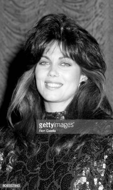 Deborah Shelton attends 27th Annual International Broadcasting Awards on March 17 1987 at the Century Plaza Hotel in Century City California