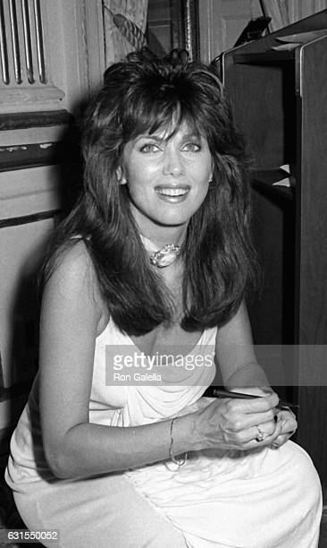 Deborah Shelton attends An Evening of Muder Mystery and Mayhem Dinner Gala on July 20 1985 at the Plaza Hotel in New York City