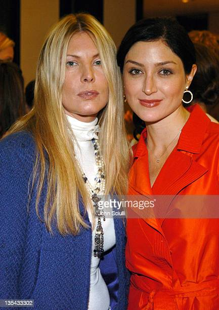 Deborah Unger and Sasha Alexander during Chanel's Special Premiere Screening of No5 The Film at Chanel Boutique in Beverly Hills California United...
