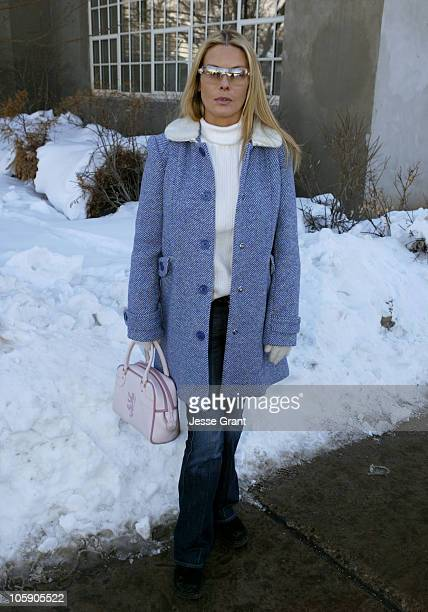 Deborah Unger during 2004 Sundance Film Festival One Point O Premiere at Library in Park City Utah United States
