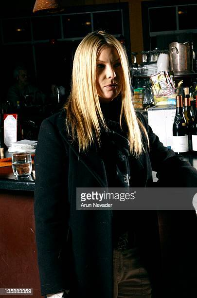 Deborah Unger during 2004 Sundance Film Festival Portraits of the cast of One Point 0 featuring Jeremy Sisto and Deborah Unger on 1/22/04 at Renee's...