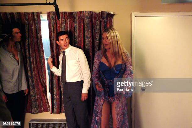 Deborah Unger who plays a cheating wife which Steve Coogan provides an alibi for Steve Coogan an English comedian plays a leading role in the film...