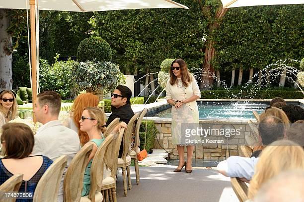 Deborah Waknin attends Lorena Sarbu Resort 2014 Luncheon at on July 24 2013 in Beverly Hills California
