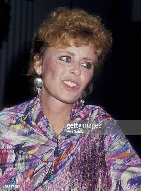 Deborah Walley attends American Cinema Awards on August 22 1987 at the Century Plaza Hotel in Century City California