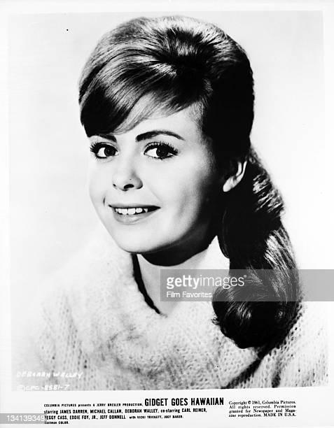 Deborah Walley publicity portrait for the film 'Gidget Goes Hawaiian' 1961