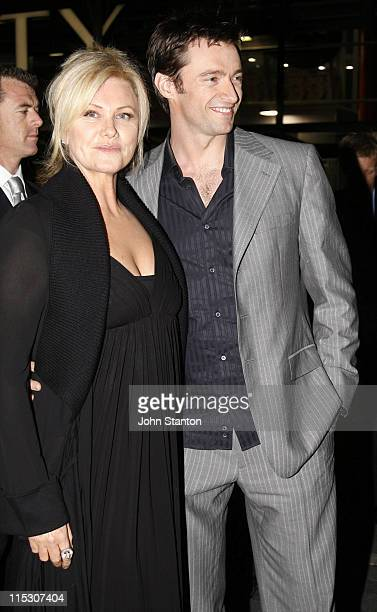 Deborra Lee Furness and Hugh Jackman during Jindabyne Sydney Premiere at Cinema Paris The Entertainment Quarter in Sydney NSW Australia