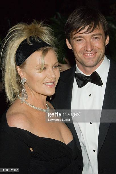 Deborra Lee Furness and Hugh Jackman during The Penfolds American Australian Association Black Tie Gala Kicks Off G'Day Day NY Australia Week at...