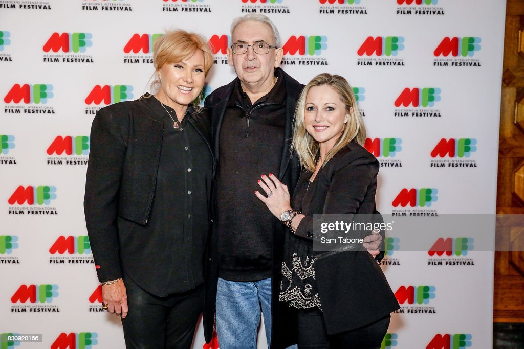 Deborra Lee Furness, Steve Jodrell Director and Simone Buchanan arrive ahead of a screening of Shame as part of the 66th Melbourne International Film Festival on August 13, 2017 in Melbourne, Australia.