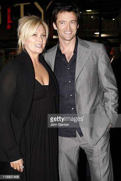 DeborraLee Furness and Hugh Jackman during Jindabyne Sydney Premiere at Cinema Paris The Entertainment Quarter in Sydney NSW Australia