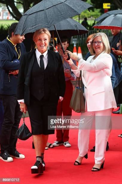 DeborraLee Furness attends the Australian premiere of The Greatest Showman at The Star on December 20 2017 in Sydney Australia