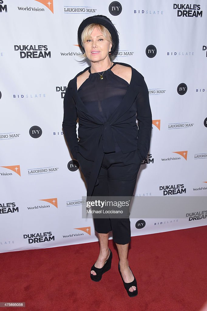 Deborra-Lee Furness attends the New York special screening of 'Dukale's Dream' at SVA Theater on June 4, 2015 in New York City.