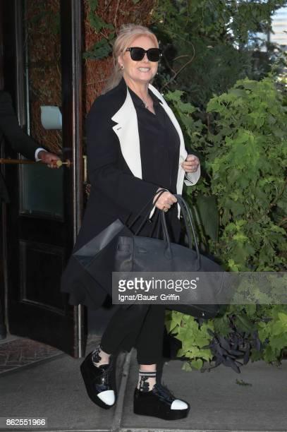 DeborraLee Furness is seen on October 17 2017 in New York City