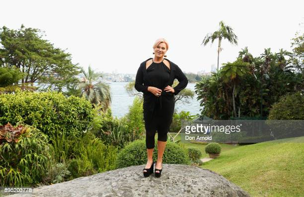 DeborraLee Furness poses ahead of An Evening With DeborraLee Furness For Adopt Change at Kirribilli House on December 19 2017 in Sydney Australia