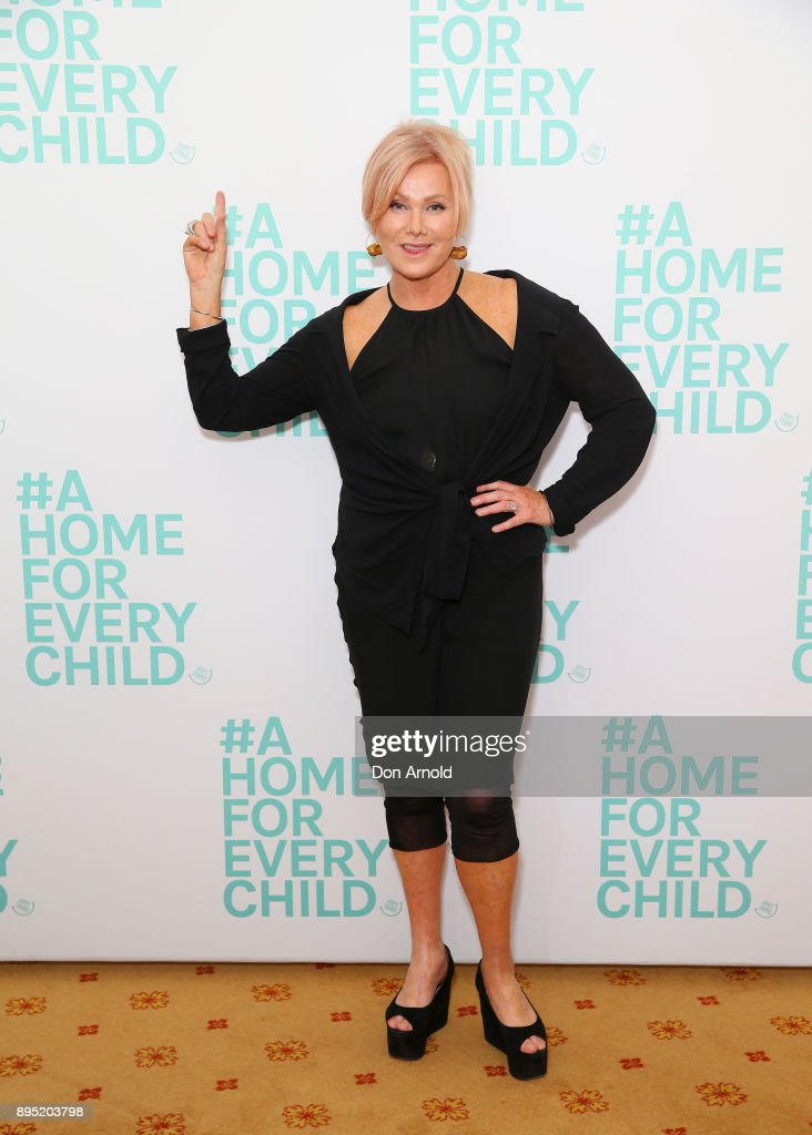 Deborra-Lee Furness poses ahead of An Evening With Deborra-Lee Furness For Adopt Change at Kirribilli House on December 19, 2017 in Sydney, Australia.