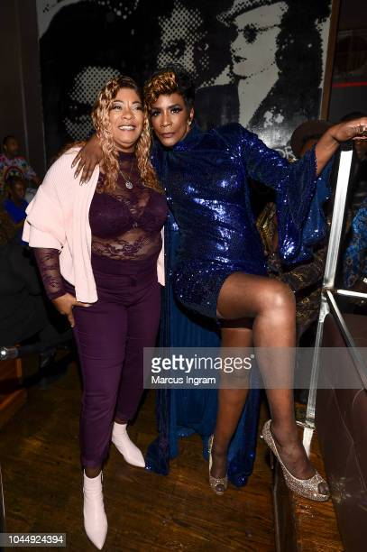 Debra Antney and Momma Dee attend 'WE tv Celebrates The Return Of Growing Up Hip Hop Atlanta' at Club Tongue Groove on October 2 2018 in Atlanta...