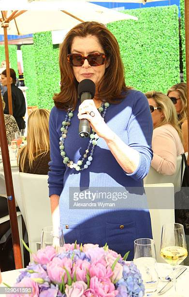 Debra Black at Ladies' Luncheon hosted by Debra Black to Preview The Elizabeth Taylor Collection from CHRISTIE'S held at MOCA Pacific Design Center...