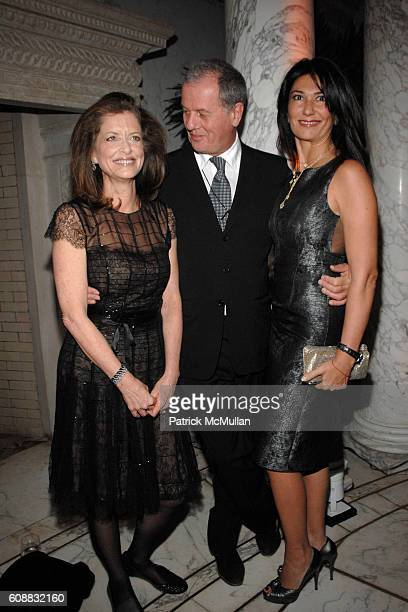 Debra Black Jacques Grange and Nazee Moinian attend A Dinner In Honor Of Monsieur JACQUES GRANGE To Celebrate His Nomination as Chevalier de la...