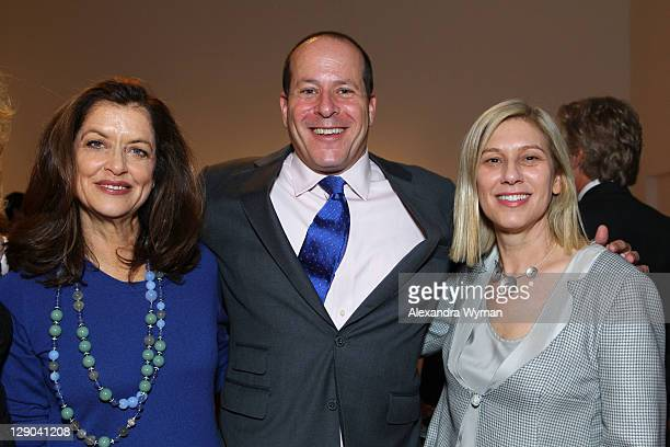 Debra Black, Marc Porter and Wendy Kaplan at Ladies' Luncheon hosted by Debra Black to Preview The Elizabeth Taylor Collection from CHRISTIE'S held...