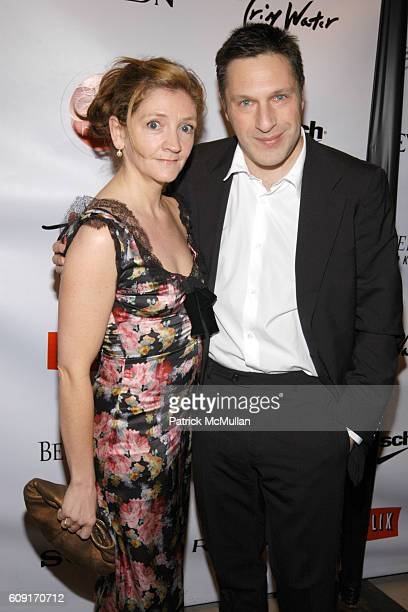 Debra Gillett and Patrick Marber attend FOX SEARCHLIGHT Official OSCAR and INDEPENDENT SPIRIT AWARDS Party at Haven House on February 23 2007 in...